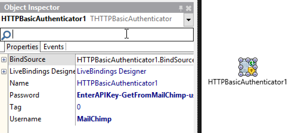 Delpjhi THTTPBasicAuthenticator Component